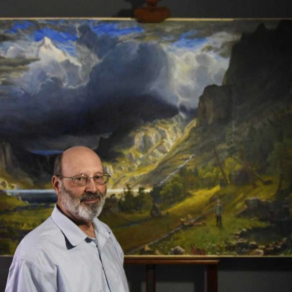 Jeff Damberg - Artist- Agnes Morley Resident